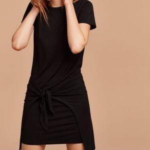 Wilfred Free Bair Dress in Black Wrap